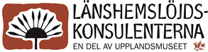 Länshemslöjdskonsultenternas logotype